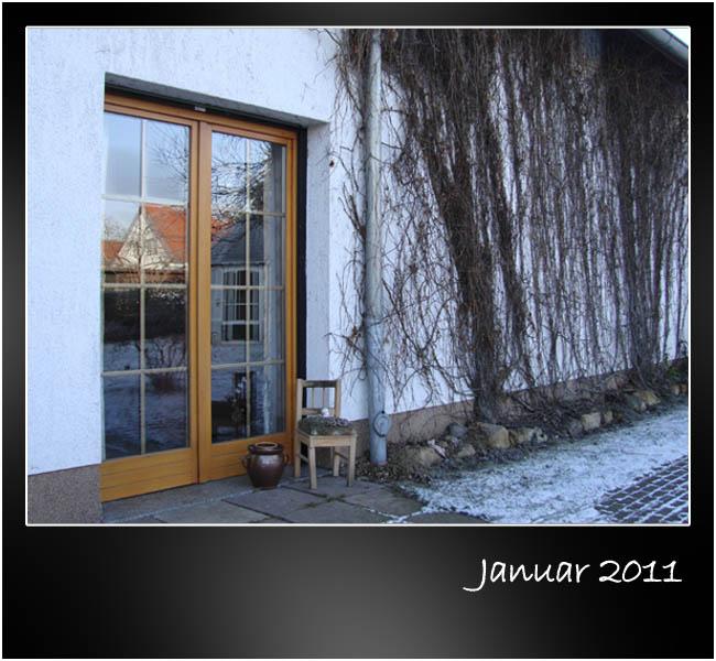 Unsere Tür zum Garten